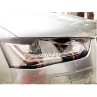 Quality Real Carbon Fiber Head Light Covers Eyelids Eyebrows For Audi A4 B9 2013UP for sale
