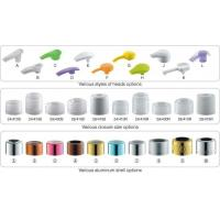 Quality Plastic Hand Lotion Pump With Aluminum Cover 24/410 for sale