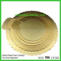 Buy cheap Rounds Cardboard Cake Circles Boarads from Wholesalers