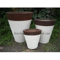 Quality Ring Stone Planter Set for sale