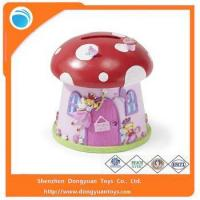 Quality Coin Banks Wholesale Mushroom Shape Piggy Bank Money Saving Box for sale