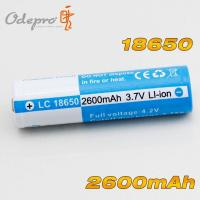 Quality OdePro 18650 2600mAh rechargeable battery for sale