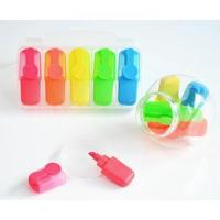 Quality Notebook sets Five colors of small highlighters Five colors of small highlighters for sale