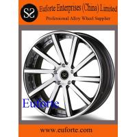 "Quality #SFW1003 18"" 19"" and 20"" 1PC black machine face forged aluminum alloy wheels Black machine face for sale"