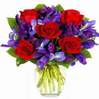 Buy cheap Winter Ruby Rose Bouquet NO.104 shenzhen flower delivery from wholesalers