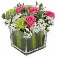 Buy cheap Beautiful Roses With Vase NO.97 deliver flower to shenzhen from wholesalers