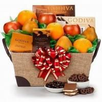 Quality Fresh Fruit and Godiva Chocolates NO.48 deliver gift to shenzhe for sale