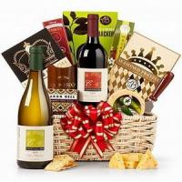 The Royal Treatment Wine Gift Basket NO.49 deliver gift to shenz
