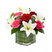 Buy cheap Lily & Roses Romance Cube NO.83 deliver flower to shenzhen from wholesalers
