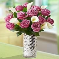 Buy cheap Enchanted Purple Rose & Calla Lily NO.56 deliver flower to shenz from wholesalers