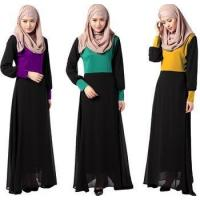 China Middle East ,Malaysia, Indonesia fashion design muslim women clothing long dress MSL0021 on sale