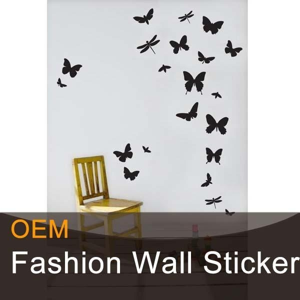 butterfly decorative wall stickers for sale of szoumda promotion 2016 new 3d wall stickers real hot sale
