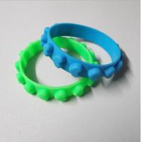 Embossed Silicone Promotion Band & Bulk Cheap Silicone Wristband