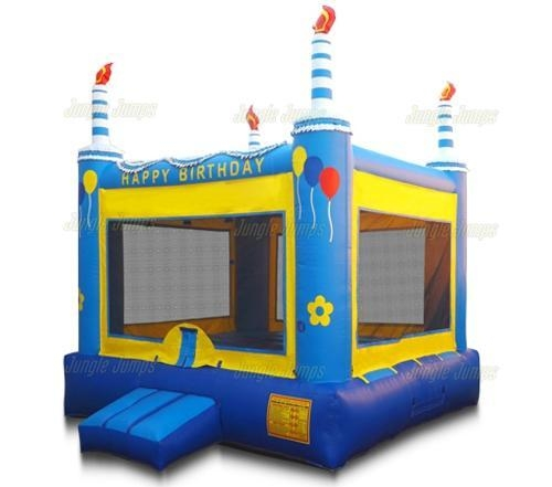 Birthday Cake Bounce House Purchase