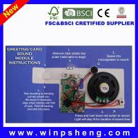 Quality Greeting Card Recordable Recorder Sound Chip for sale