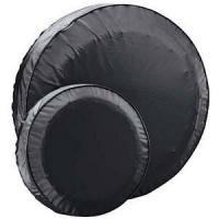 Quality Spare Trailer Tire Cover Fits 13 inch Trailer Tires Black for sale