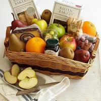 Quality Gourmet Gifts & Sweets Farmer's Market Finds Basket for sale