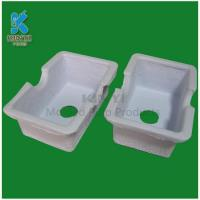 Quality biodegradable molded paper pulp packaging tray for sale