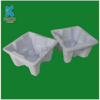 Quality Recycled Materials Molded Disposable Packaging trays for sale