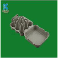 China Customized Biodegradable and Disposable Paper Pulp Egg Cartons on sale