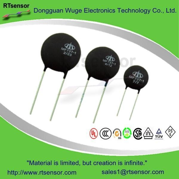Buy MF73T-1 High Power Inrush Current Limiter , Power NTC Thermistor at wholesale prices