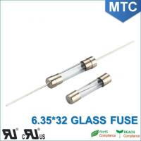 Quality MTC 6.0*30mm 6.35X32mm 0.1~30A Time-Lag Glass Fuse for sale