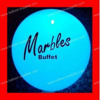 Buy cheap LB-L05 2014 Hot sale printed led balloon branded led balloon from wholesalers