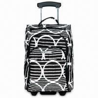 Quality Rolling Duffle Bag in Trolley Design with Top Grip - PG-RD036 for sale