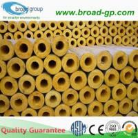 China Fiberglass Pipe Insulation / Glasswool Pipe on sale