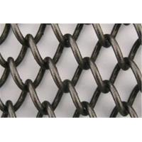 Quality Aluminum Stainless Steel Brass Bronze and Galvanized Chain Link Mesh Curtain for sale