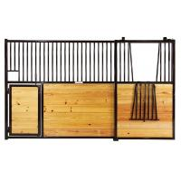 """Featured Elite"""" Horizontal Horse Stall with Lazy Susan Door"""