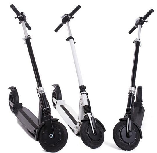 China Electric Scooter Portable Foldable Motor Scooter 8.5AH