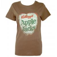 Kellogg's Apple Jacks Ladies Khaki T-Shirt