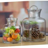 Quality Handblown Glass Canister Or Glass Candy Jars From Daxi Houseware for sale