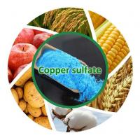Buy cheap Chemicals Fertilizer Manufacture Price Of Copper Sulfate from wholesalers