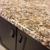 Quartz pure white color countertop