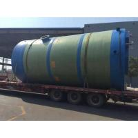 Integral prefabricated pumping station