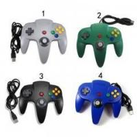 China High Quality Classic Retro Joypad Joystick Gamepad For N64 Bit USB Wired Controller for N64 PC on sale