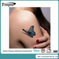 Quality 3D Body Custom Temporary Butterfly Tattoos Cheap(ET4-1) for sale
