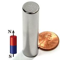 """Quality 1/2""""x2"""" N52 Neodymium Rare Earth Cylindrical Magnet for sale"""