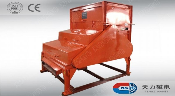Buy TL3G three roller dry magnetic separator at wholesale prices