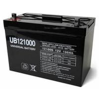 Quality 12 Volt 100 Amp Hour Sealed Lead Acid Battery by UPG for sale