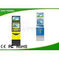 Buy cheap 1.5mm Steel Case Prepaid Mastercard Kiosk ATM Machine , Grocery Store Kiosk Dual Screen from wholesalers