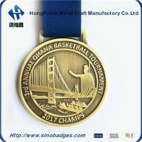 Quality 3rd Annual Ohana Basketball Tournament Champs Stamping Medal for sale