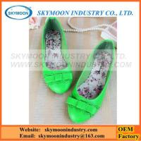 Buy cheap Girls Colorful Cute Casual Falt Shoes From Factory OEM Orders from wholesalers