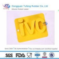 Silicone Kitchenware Silicone Customized Cool Alphabet Ice Tray Mold with Letter Shaped