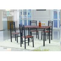 Quality 2016 restaurant or home furniture - iron frame dining table and chairs factory supply for sale