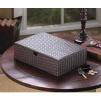 Quality Faux Leather Keepsake Box for sale