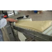 Steamed Bun / Pizza Bread Making Production Line 5.72KW 300mm Roller Width