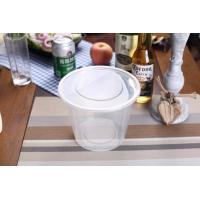 Buy cheap 750ml Food Grade Plastic Round Food Container from Wholesalers
